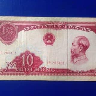 10 đồng cụ mượt năm 1958 của sieuthitienxua tại Hồ Chí Minh - 3357722