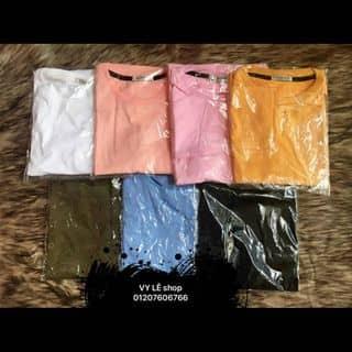 áo thun trơn có nhìu màu tay lỡ size free dưới 60kg của siuchen1 tại Shop online, Huyện Lục Yên, Yên Bái - 3678418