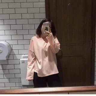 Áo xẻ vạt màu hồng vỏ đỗ của tranthuy445 tại Hà Giang - 2390015
