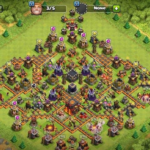 Bán acc clash of clan - 3198092 tedytedy - Huynh tan phat. Q7 tphcm -