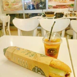 Bánh mì Hội An & Trà đào của phuongminlee310 tại 30 Quang Trung, Quang Trung, Quận Hồng Bàng, Hải Phòng - 1226766