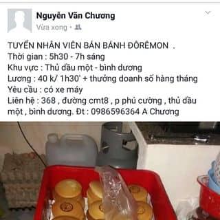 Bánh rán đôremon của nguyenvanchuong3 tại Đại lộ Bình Dương, Huyện Thuận An, Bình Dương - 1543925