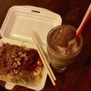 Bánh tráng trộn + sinh tố cafe của mydunn98 tại 316D Lâm Quang Ký, Thành Phố Rạch Giá, Kiên Giang - 1845828