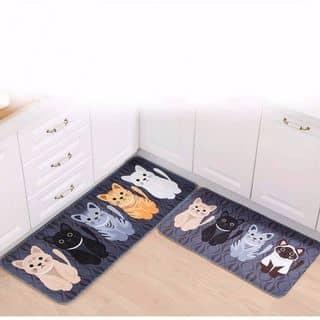 Bộ 2 Thảm Lót Sàn Chống Thấm Mèo Con Dễ Thương của linhdohoang tại Hồ Chí Minh - 3462532