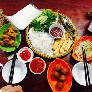 Bún đậu + nem chua rán + khoai môn lệ phố của thanhtamaof tại 51A Lý Tự Trọng, Hà Tĩnh - 1823063
