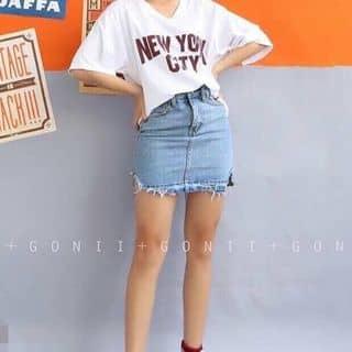 Chân váy jean rách viền của tydo10 tại Hồ Chí Minh - 3839606