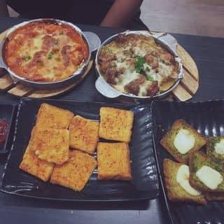 Combo gà nướng phô mai+ gà cay phô mai+ bánh mì phô mai+ bánh mì bơ tỏi của thienkimng tại 345/84 Trần Hưng Đạo, Cầu Kho, Quận 1, Hồ Chí Minh - 3861326