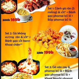 Combo món hàn siêu tiết kiệm của hanhnguyen101 tại 72/14A Đường số 30 Lê Đức Thọ, p.6, Gò Vấp, Quận Gò Vấp, Hồ Chí Minh - 3421432