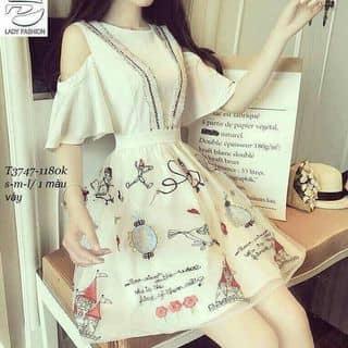 ••• Đầm tùng xoè tay dơi phối tùng voan in 3D   của doquyen139 tại Xô Viết Nghệ Tĩnh, Quận Bình Thạnh, Hồ Chí Minh - 3810660
