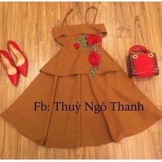 Đầm xoè ren kết hoa  của nhuman3 tại Ninh Thuận - 1171592