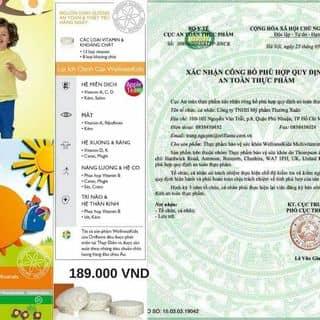 Dinh dưỡng cho bé của nhungnguyen312 tại Shop online, Thành Phố Vĩnh Long, Vĩnh Long - 3432512