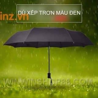 Dù xếp trơn màu đen - WinWinShop88 của winwinshop88 tại 714/17 Nguyễn Trãi Phường 11 Quận 5, Quận 5, Hồ Chí Minh - 3866573