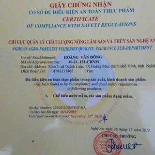 Giấy chứng nhận luôn nhé. k sơ sài đâu nha của sthienlong tại Đội Cấn, Trưng Vương, Thành Phố Thái Nguyên, Thái Nguyên - 4165704