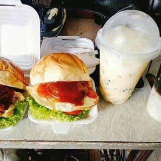Hambuger#sửa chua lắc vị chanh dây# cafe dừa của nguyenquynhanh24 tại Đà Nẵng - 1812613