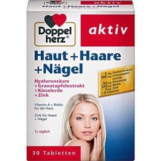 Haut + Haare + Nagel Doppelherz Thuốc bổ hỗ trợ làm đẹp Da, Tóc và Móng của langtucodon2000 tại Hải Phòng - 3876718