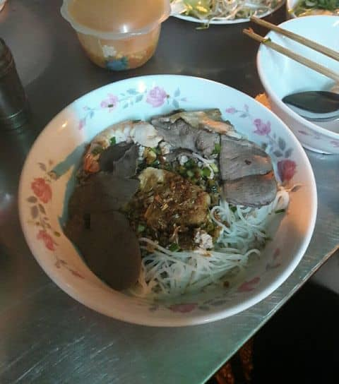 Noodle food saigon