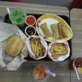 Khoai tây lắc phomai+ tảo biển, burger thịt nướng, trà thái nha đam của kieuanhly1 tại 149 Biên Hoà, Thành Phố Phủ Lý, Hà Nam - 2213864