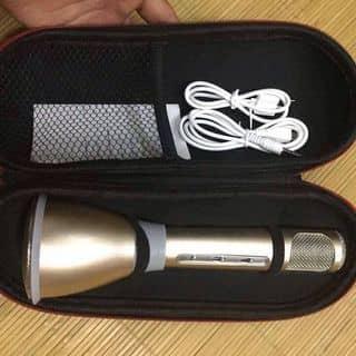 Micro kiêm Loa Bluetooth hát karaoke trên điện thoại (Vàng đồng) của techtoystoretn tại Thái Nguyên - 2081516