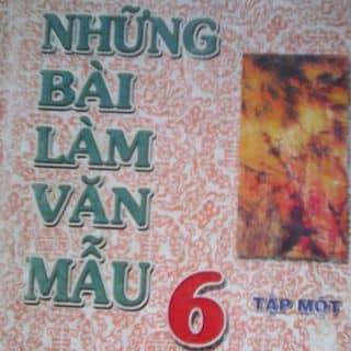 Những bài làm văn mẫu lớp 6 tập 1 của sachcugiare4 tại Shop online, Quận Tân Phú, Hồ Chí Minh - 3272341