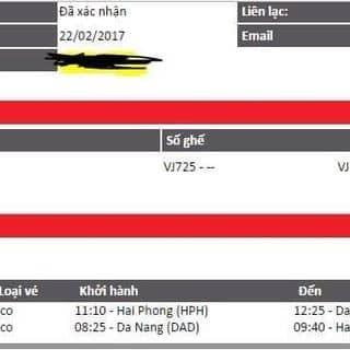 NHƯỢNG VÉ máy bay của vemaybaygiare1 tại Hải Phòng - 2927539