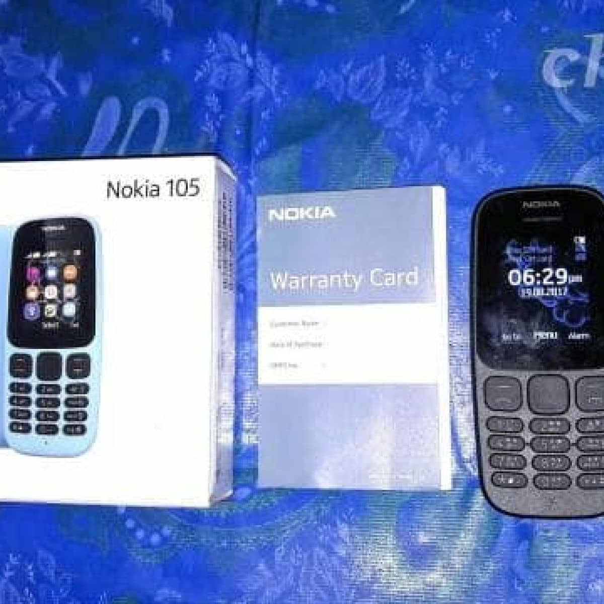 Nokia 105 2017 Ti Ca Hng In T 2 V Thu Tho Lozi