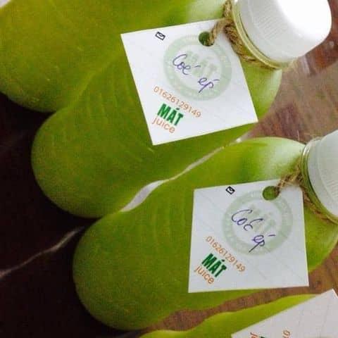 Các hình ảnh được chụp tại Mát Juice - Đội Cấn