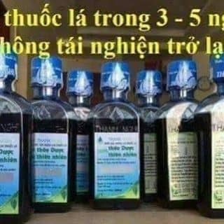 Nước súc miệng cai thuốc lá Thanh Nghị của dongha21 tại 120 Trường Chinh,  Đức Xuân, Thị Xã Bắc Kạn, Bắc Kạn - 3409616