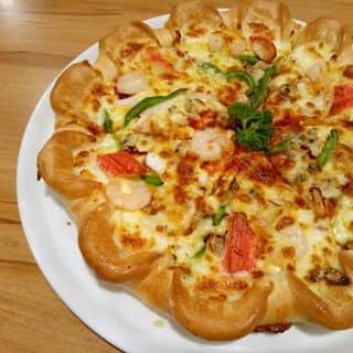 Pizza, mì ý tôm sốt cà chua của nguyenthuy.hoangtu tại 207 Lê Đại Hành, phường 13, Quận 11, Hồ Chí Minh - 3469018