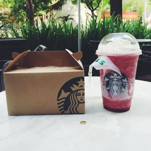 Raspberry black current blended tea - 110448 tuki99 - Starbucks Coffee - Nguyễn Du - President Place, 93 Nguyễn Du, Bến Nghé, Quận 1, Hồ Chí Minh