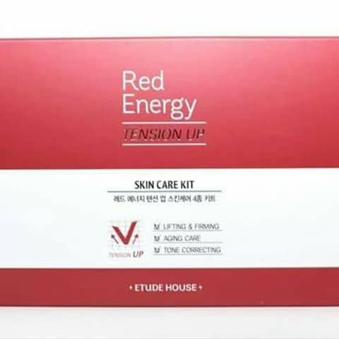 Image result for bộ skin care kit edu house red energy