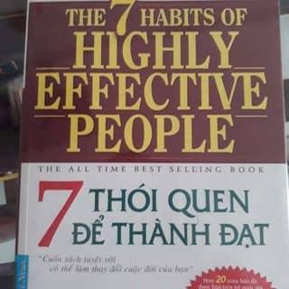 Sách 7 thói quen thành đạt của phuonguyen10091311 tại Chợ Bà Chiểu, Quận Bình Thạnh, Hồ Chí Minh - 3840980