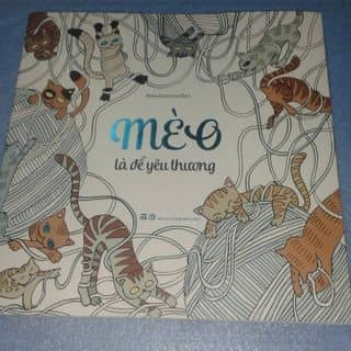 Sách tô màu mèo là để yêu thương của vuonghannguyen tại Thừa Thiên Huế - 1055982