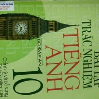 Sách trắc nghiệm Tiếng Anh 10 có đáp án của nguyendung696 tại Shop online, Huyện Đạ Tẻh, Lâm Đồng - 1221188