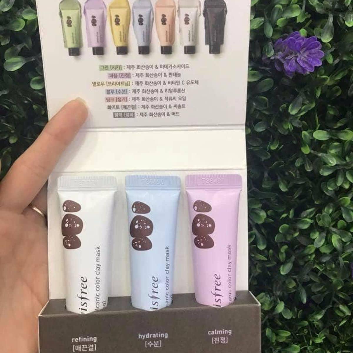 Energizing Kit Jeju Volcanic Color Clay Mask Daftar Harga Terbaru Innisfree Refining 70ml Set 3 Mt N White
