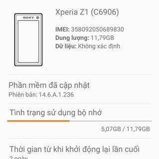 Sony experia z1 của congchuot2 tại Lạng Sơn - 1130560