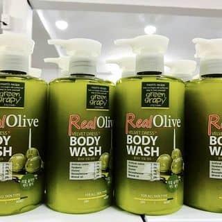 Sữa tắm Green Real Olive Velvet xuất xứ 100% từ Hàn Quốc của thuychung12 tại Shop online, Huyện Triệu Phong, Quảng Trị - 2198998
