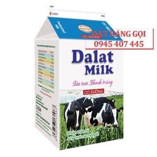 Sữa Tươi Thanh Trùng Có Đường/ Ko Đừơng 450ml của dalatmilk.homedelivery tại Hồ Chí Minh - 3349550