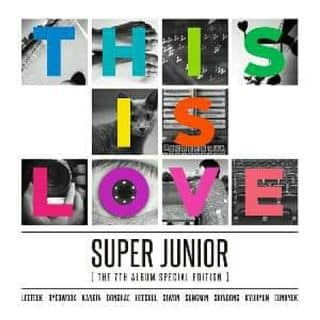 SUPER JUNIOR vol.7 Special Album: THIS IS LOVE [Cover: Kyu / Wook ] của hanwook tại Đồng Tháp - 1734530
