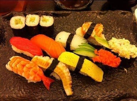 Sushi combination - 112912 tranuyen1 - Tokyo Deli - Điện Biên Phủ - 250A Điện Biên Phủ, Quận 3, Hồ Chí Minh