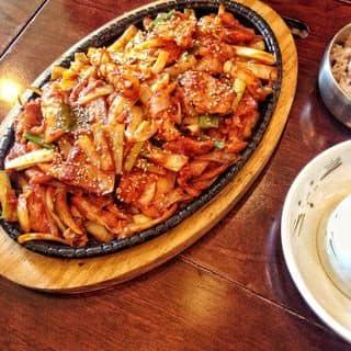 Ăn ngay LẨU SƯỜN KIM CHI chỉ 100k ngon khó phai trên tòa Keangnam