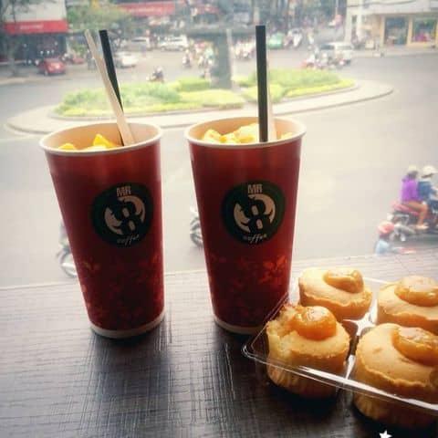 Các hình ảnh được chụp tại  Mr 8 Coffee - Hai Bà Trưng