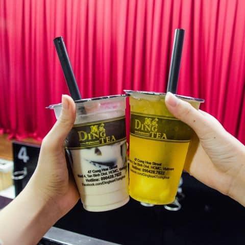 Các hình ảnh được chụp tại Ding Tea - Cộng Hoà