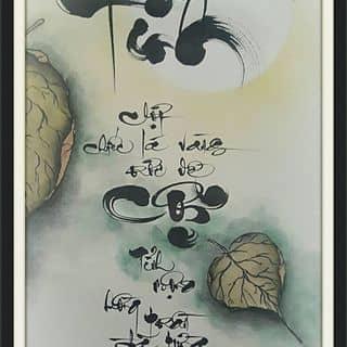 Tranh thư pháp của thuphapthienhoa tại Chợ Trà Vinh, phường 3, Thị Xã Trà Vinh, Trà Vinh - 1600737