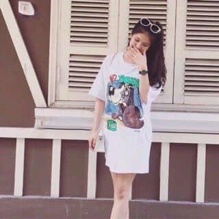 Váy phông chó Doggies Qc siêu đáng yêu , kiểu dáng suông rộng nên thoải mái cực 😋😋 2 màu : trắng & đen , hình bao giặt 👍👍👍 Giá lẻ chỉ : 210 Chất liệu : thun siêu đẹp của boocuteo tại Hồ Chí Minh - 3457567