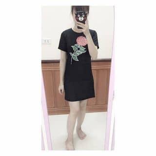 váy suông hoa hồng của vanbe14 tại Phú Thọ - 3407745
