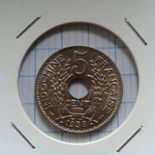 Xu xưa 1938. của nguyentrongtam2 tại Shop online, Huyện Đạ Tẻh, Lâm Đồng - 1540693